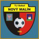 Znak klubu Sokol Nový Malín